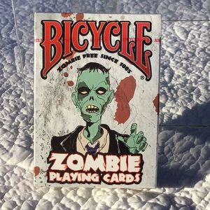 Bicycle Zombie Playing Cards NWT SEALED 2012